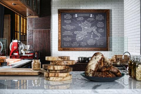 فندق أتلانتا - Charcuterie Bar Detail