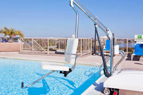 Holiday Inn Charleston Riverview Hotel - ADA Handicapped Swimming Pool Lift