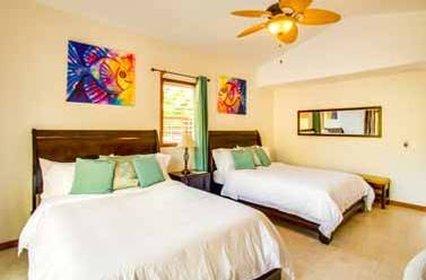 Hatchet Caye - Double Bedroom