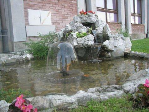 Zeleznicar Konaciste Hotel - Fountain