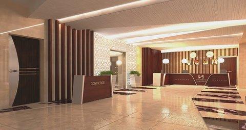 سويس بل هوتيل سيف البحرين - Lobby Reception