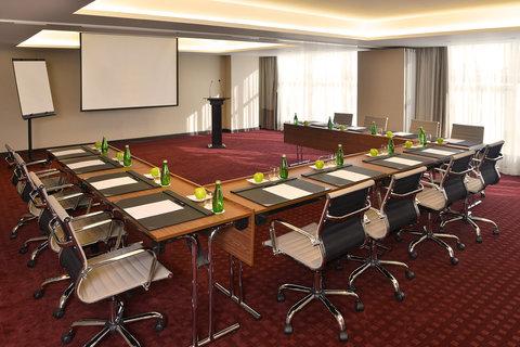 سويس بل هوتيل سيف البحرين - Amwaj Meeting Room U Shaped Style