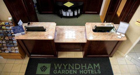 Courtyard Fort Wayne Hotel - Front Desk