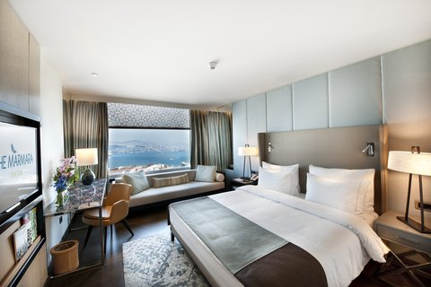 The Marmara Taksim - Deluxe Room Bosphorus at The Marmara Taksim