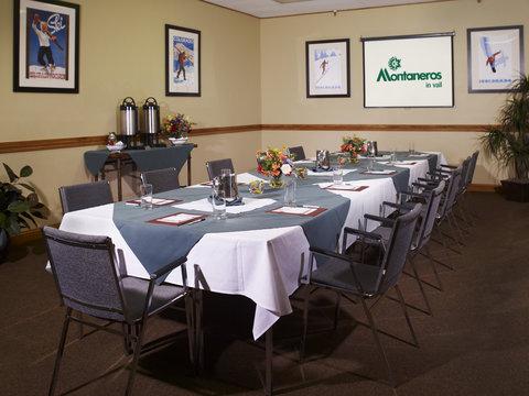 Montaneros in Vail - meeting room
