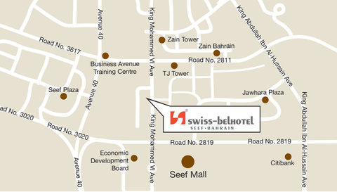 سويس بل هوتيل سيف البحرين - Swiss-Belhotel Seef  Bahrain Seef