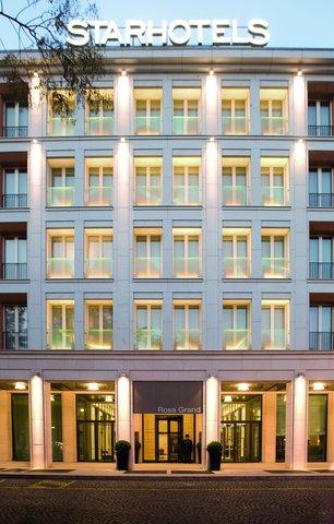 Starhotels Rosa Grand - Exterior