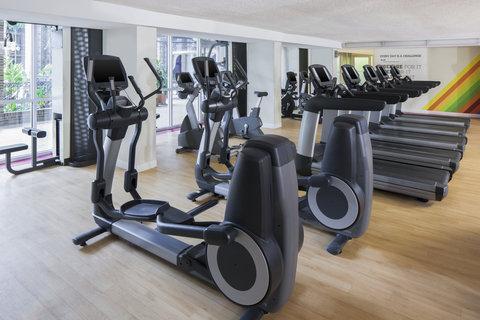 Sheraton Atlanta Hotel - Fitness Center