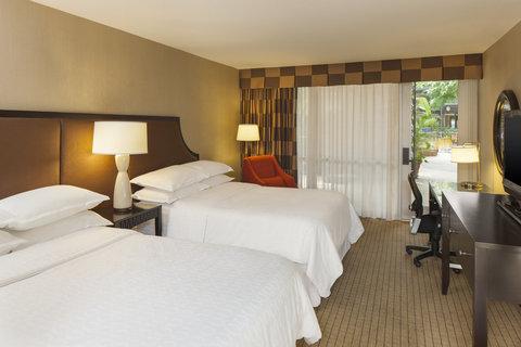 Sheraton Atlanta Hotel - Queen Guest Room