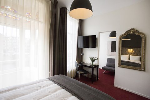 Quentin Amsterdam Hotel - Luxury Double With Canal View