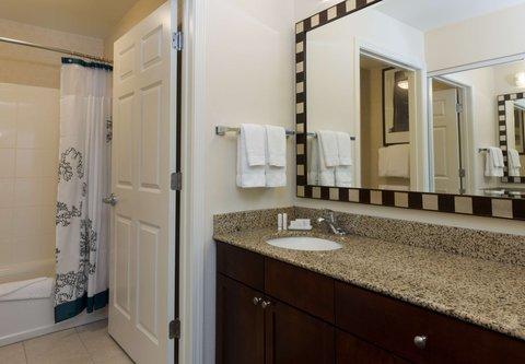 Residence Inn Baton Rouge Towne Center at Cedar Lodge - Suite Bathroom