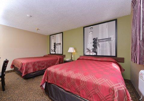 Econo Lodge - Bedroom