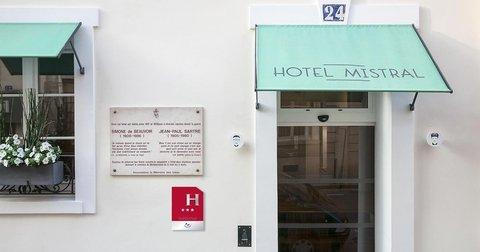 Hôtel Mistral - Facade