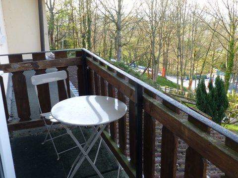 Lyncombe Lodge Hotel - Balcony