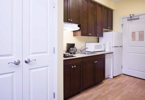 TownePlace Suites Boise Downtown - Queen Queen Studio Suite Kitchen