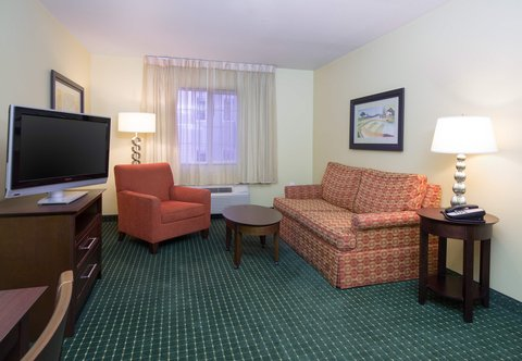 TownePlace Suites Boise Downtown - Two-Bedroom Suite Living Area