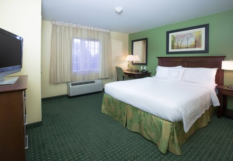 TownePlace Suites Boise Downtown - Two-Bedroom Suite Sleeping Area