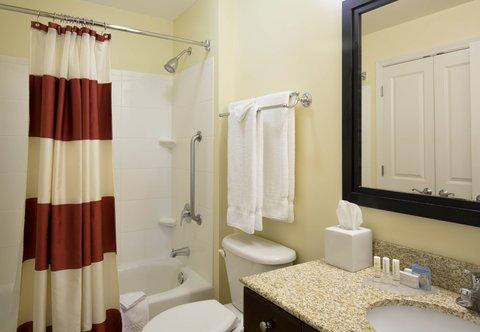 TownePlace Suites Boise Downtown - Accessible Suite Bathroom