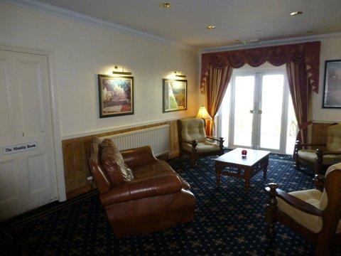 Lyncombe Lodge Hotel - Lounge