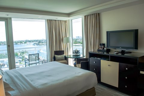 هيلتون فورت لودرديل مارينا - Guest Room King Balcony