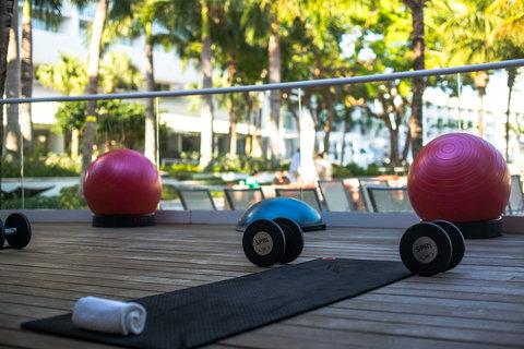 هيلتون فورت لودرديل مارينا - Yoga Deck
