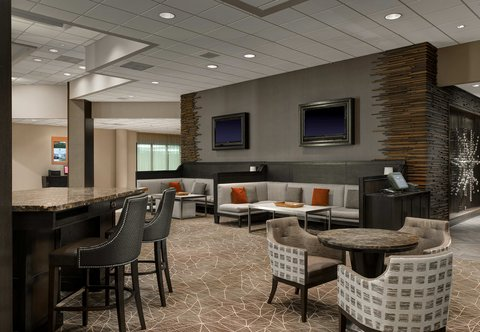 Marriott Dfw Airport North Hotel - Greatroom Seating Area