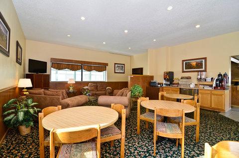 Americas Best Value Inn Goodland - Breakfast Area