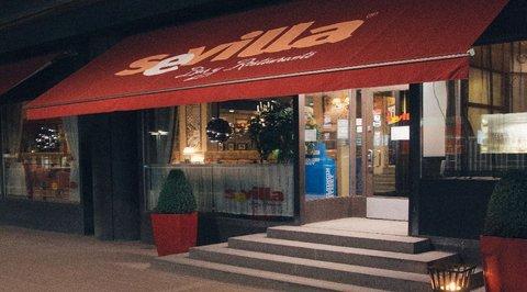 Sokos Hotel Presidentti - Restarurant Sevilla entrance