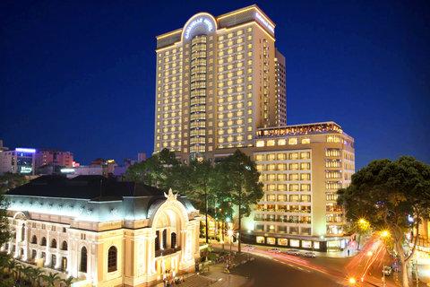 Caravelle Hotel - Facade at CaravelleSaigon Ho Chi MInh