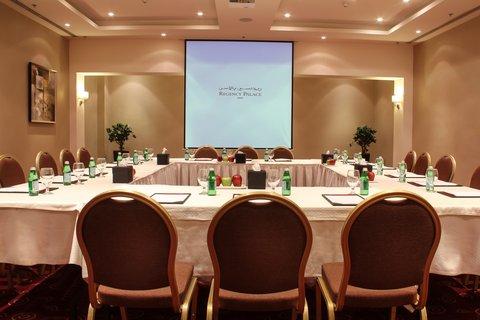 ريجنسي بالاس عمان - Madaba Meeting Room at Regency Palace Amman