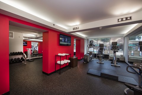 Holiday Inn ATHENS-UNIVERSITY AREA - Cardio workout overlooking the outdoor pool with tv s everywhere