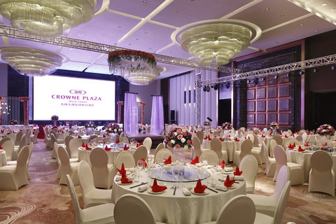 Crowne Plaza WUXI TAIHU - Grand Ballroom wedding setup