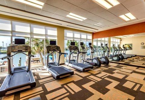 Courtyard St. Petersburg Clearwater/Madeira Beach - Fitness Center