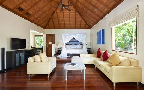 Hilton Seychelles Labriz Resort And Spa - Deluxe Beachfront Pool Villa Interior