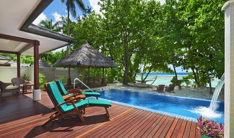 Hilton Seychelles Labriz Resort And Spa - Swimming Pool  Deluxe Beachfront Pool Villa