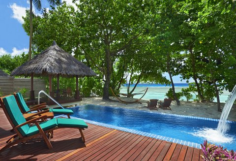 Hilton Seychelles Labriz Resort And Spa - Beachfront Villa Pool