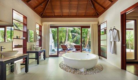 Hilton Seychelles Labriz Resort And Spa - Bathroom Deluxe Hillside Pool Villa