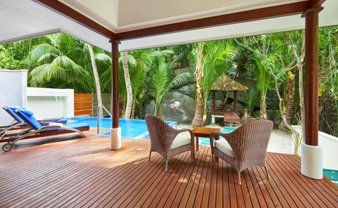 Hilton Seychelles Labriz Resort And Spa - Swimming pool  Deluxe Hillside Pool Villa