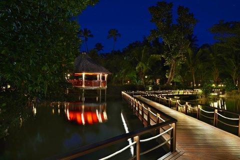 Hilton Seychelles Labriz Resort And Spa - Night Exterior