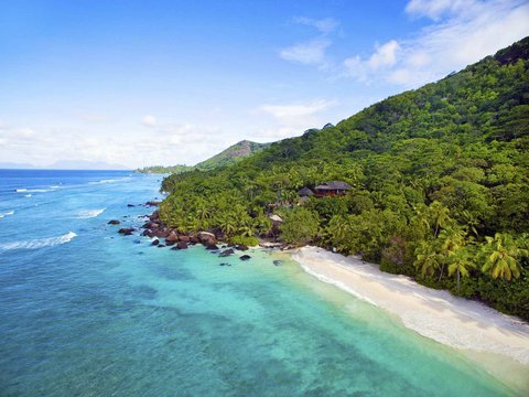 Hilton Seychelles Labriz Resort And Spa - Presidential Villa from the sky