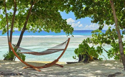 Hilton Seychelles Labriz Resort And Spa - Hammock on the Beach