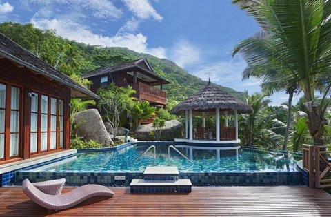 Hilton Seychelles Labriz Resort And Spa - Swimming Pool Presidential Villa