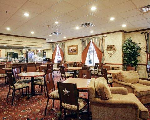 Comfort Suites Waco - Breakfast Texas Style Seating