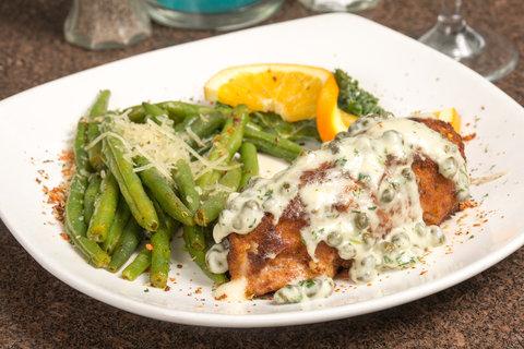 Holiday Inn Resort DAYTONA BEACH OCEANFRONT - Chicken Cordon Bleu Dinner Entree