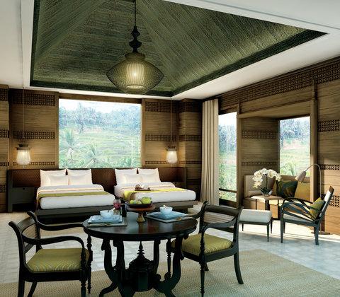 Mandapa, A Ritz-Carlton Reserve - Twin Bedroom  Mandapa Three-Bedroom Pool Villa