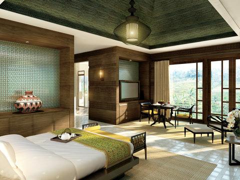 Mandapa, A Ritz-Carlton Reserve - Double Bedroom  Mandapa Three-Bedroom Pool Villa