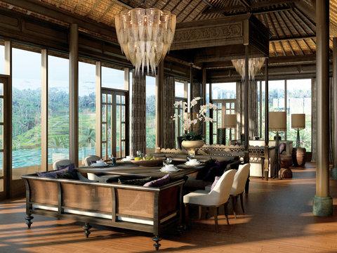 Mandapa, A Ritz-Carlton Reserve - Mandapa Three-Bedroom Pool Villa  Living   Dining