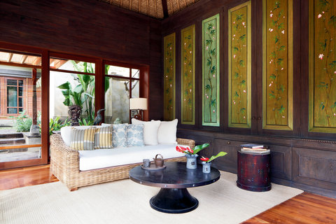 Mandapa, A Ritz-Carlton Reserve - Living Room  One-Bedroom Pool Villa