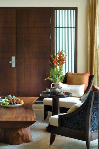 بانيان تري أونغاسان - Pool Villa Garden View Living Room Jpg