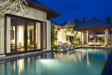 بانيان تري أونغاسان - Sanctuary Pool Villa Exterior